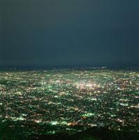 藻岩山から札幌市街を望む夜景