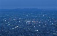 藻岩山から札幌市を望む夜景