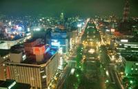 札幌市街の夜景
