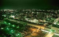 盛岡市街の夜景