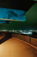 盛岡市街を望む夜景