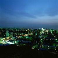木更津市街の夜景 02350001446| 写真素材・ストックフォト・画像・イラスト素材|アマナイメージズ