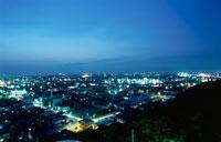 木更津市街の夜景 02350001450| 写真素材・ストックフォト・画像・イラスト素材|アマナイメージズ