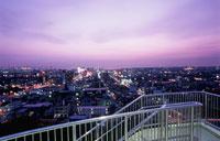 木更津市街の夜景 02350001451| 写真素材・ストックフォト・画像・イラスト素材|アマナイメージズ