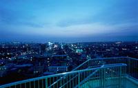 木更津市街の夜景 02350001453| 写真素材・ストックフォト・画像・イラスト素材|アマナイメージズ