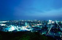 木更津市街の夜景 02350001455| 写真素材・ストックフォト・画像・イラスト素材|アマナイメージズ