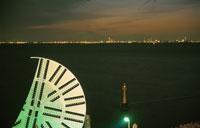 海ほたるから横浜を望む夜景 02350001483| 写真素材・ストックフォト・画像・イラスト素材|アマナイメージズ