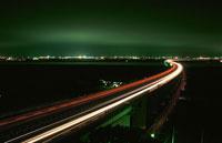 佐原SAと鹿島市方面の夜景 02350001536| 写真素材・ストックフォト・画像・イラスト素材|アマナイメージズ