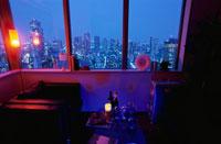 夜景が見える部屋