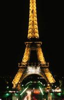 エッフェル塔の夜景