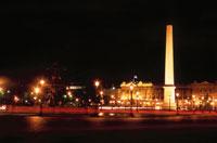コンコルド広場の夜景