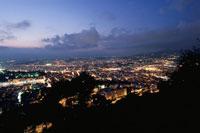 モンテアルバンから眺めるニースの街