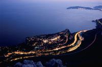 地中海の夜景