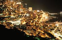 モンテカルロの夜景 02350001734| 写真素材・ストックフォト・画像・イラスト素材|アマナイメージズ