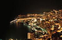 モナコの海岸線