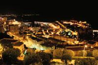 モナコ港の夜景
