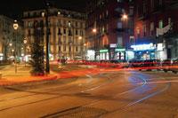 ナポリの街並