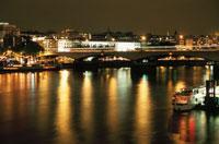 テムズ川と夜景
