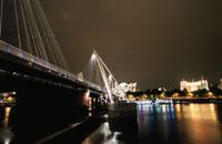 ハンガーフォード橋と夜景
