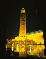ハッサン2世モスク 02350002035| 写真素材・ストックフォト・画像・イラスト素材|アマナイメージズ