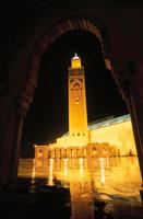 ハッサン2世モスク 02350002037| 写真素材・ストックフォト・画像・イラスト素材|アマナイメージズ