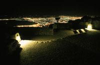 テーブルマウンテン山頂の風景
