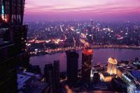金茂大廈から見た夜景