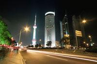 浦東エリアの夜景
