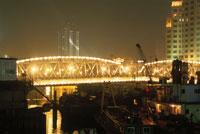 外白渡橋の夜景
