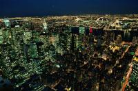 エンパイア・ステート・ビルから望む夜景