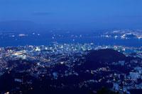 コルコバードの丘から見た夜景