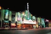 ハリウッド周辺の夜景