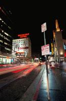 ハリウッド通りの夜景