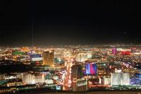 ストラトスフィアタワーから見たラスベガス 02350002449| 写真素材・ストックフォト・画像・イラスト素材|アマナイメージズ