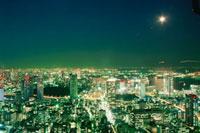 芝から望む浜松町方面の夜景
