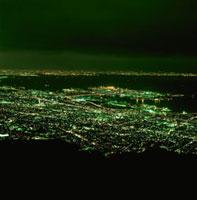 麻耶山掬星台から望む六甲アイランドの夜景