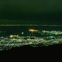 麻耶山掬星台から望む灘区の夜景