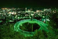 ビーナスブリッジと神戸の夜景