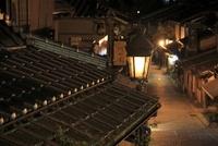京都・二年坂の夜景