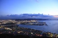 屋島から望む高松市街の夜景