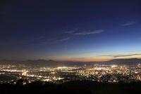 岩山公園から望む盛岡市街の夜景