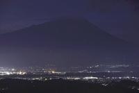 岩山公園から望む岩手山の夜景