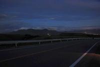 阿蘇ミルクロードからの夜景