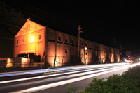舞鶴倉庫のライトアップ
