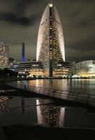 カップヌードルミュージアムパークから眺める横浜の夜景