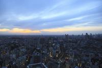 五反田付近から望む東京の夕景