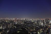 五反田付近から望む東京の夜景