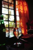 リゾート室内のグラス