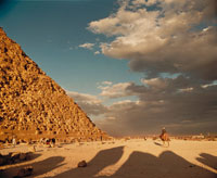 ギザのピラミッド 02355000047  写真素材・ストックフォト・画像・イラスト素材 アマナイメージズ