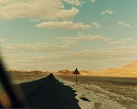砂漠の道路 02355000048| 写真素材・ストックフォト・画像・イラスト素材|アマナイメージズ